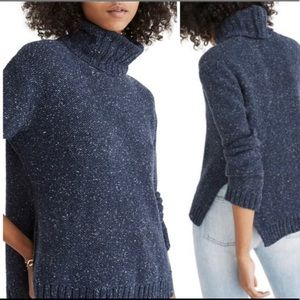 Madewell Turtleneck Chunky Sweater Size M
